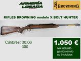 Rifles browning cerrojo -x bolt h. - foto
