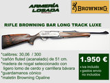 Rifles browning long track luxe - foto