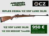Rifles ceska cz 550 cerrojo - foto