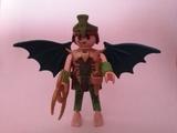 Playmobil guerrero alado verde - foto