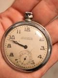 reloj francés de bolsillo a cuerda - foto