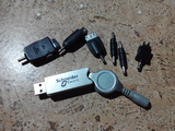 CARGADOR USB MóVILES ANTIGUOS
