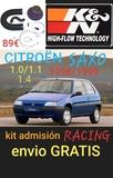 CitroËn saxo kit admisiÓn racing k&n - foto
