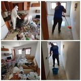 Equipo de limpiezas profesional, vaciado - foto