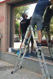Instalación de lámina solares - foto