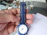 Reloj Cauny titanio con correa de pasta - foto