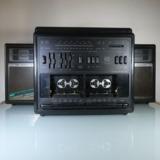 Mini cadena - radio - tocadiscos - cinta - foto