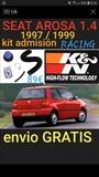 @ Seat arosa 1.4 kit admisiÓn racing - foto