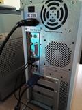 torre de ordenador pc intel asus - foto