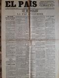 Facsimil periÓdicos el pais 1902 - foto