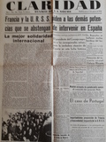 Facsimil periódicos Guerra Civil España - foto