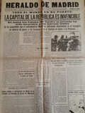 FacsÍmil periÓdicos guerra civil espaÑa - foto