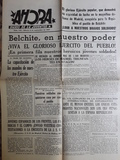 Facsimil periÓdico guerra civil espaÑola - foto