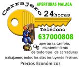 cerrajero malaga 637000808 - foto