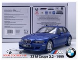 1:18 BMW Z3 M Coupé 3.2 color Azul 1999 - foto