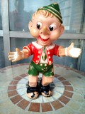 Vintage muñeco pinocho juguete antiguo - foto