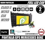 PANTALAL GPS DVD ANDROID CLASE C CLK - foto