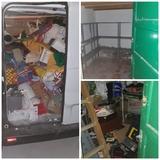 Limpiezas de residuos inservibles - foto