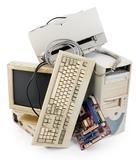 Recojo ordenadores viejos - foto