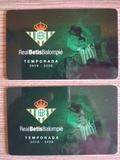 Dos abonos Betis Villarreal gol Norte - foto