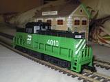 Locomotora diesel 4010 mehano ho - foto