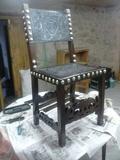 restauracion de antiguedades muebles pin - foto