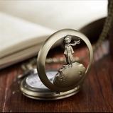 Reloj de bolsillo  El Principito vintage - foto
