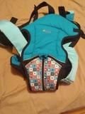 mochila porta bebe - foto