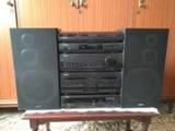 tocadiscos,radio cd,casette,ecualizador. - foto