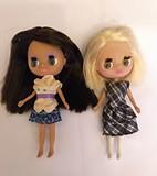 2 Muñecas mini Blythe - foto