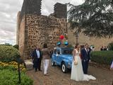 Coche clÁsico para bodas - foto