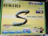G31m-s r2.0 socket 775 NUEVA +procesador - foto