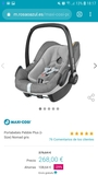 MaxiCosi Pebble Plus+Adaptadores Bugaboo - foto