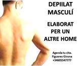 Depilació corporal masculina - foto