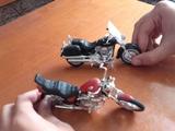 motos miniaturas - foto