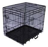Jaula plegable perros- negra.xxl - 121x7 - foto