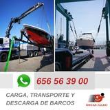 TRANSPORTE DE BARCOS POR CARERTERA - foto