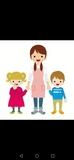 Cuidadora de niños, niñera - foto