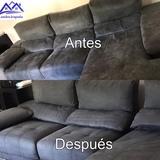 lavado de sofás a vapor - foto