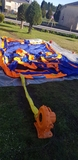 colchoneta inchable acuática - foto