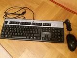 teclado y ratón hp - foto