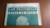 Edicion Especial Las Provincias Franco H - foto