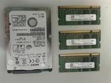 DISCO 160 Gb + memorias 1 Gb - foto