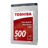 Disco duro 500gb toshiba l200 - slim mob - foto