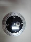 esfera tarifa metalica reloj billar - foto