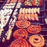 mesas de mini hamburguesas perritos cali - foto