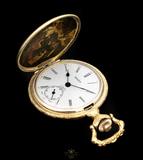 reloj suizo de bolsillo de cuerda - foto