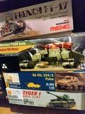 Maquetas de tanques - foto