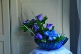 Hermosos arreglos florales - foto