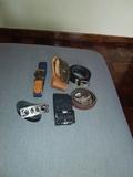 lote cinturones - foto